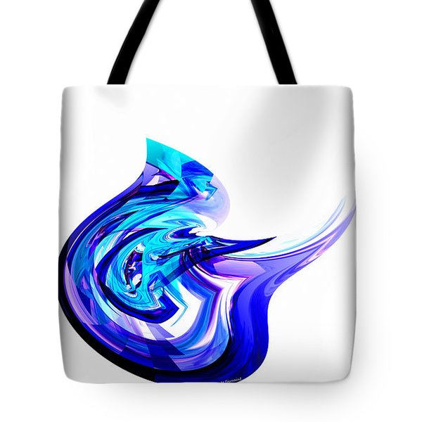 Fantasy Bird Tote Bag by Thibault Toussaint