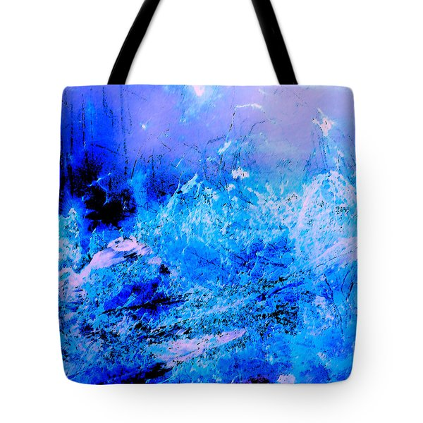 Fantasy Blue Artwork Tote Bag
