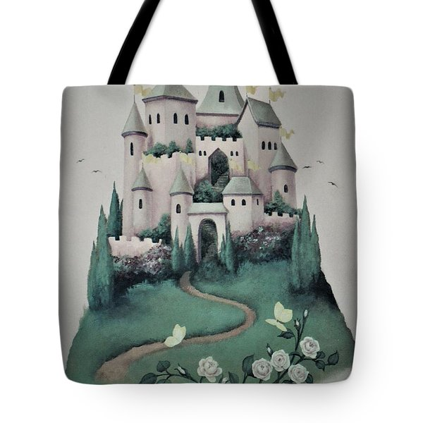 Fantasy Castle Tote Bag