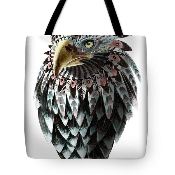 Fantasy Eagle Tote Bag
