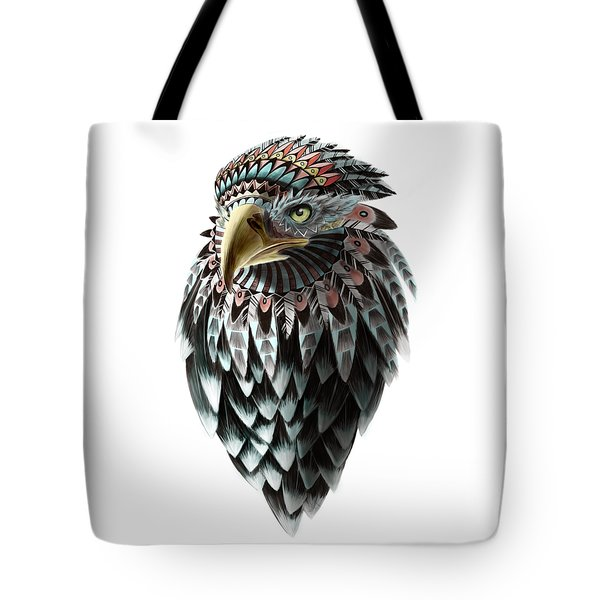 Fantasy Eagle Tote Bag