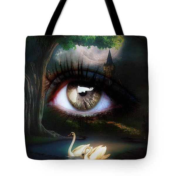 Fantasy Eye Tote Bag