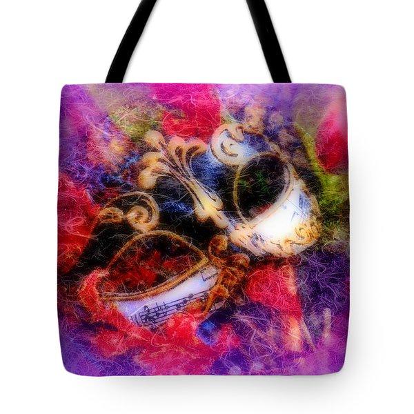 Fantasy Eyes Tote Bag