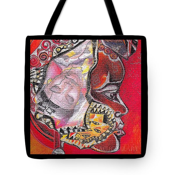 Fantasy Face Tote Bag