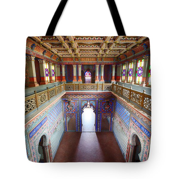 Fantasy Fairytale Palace - Patio Tote Bag