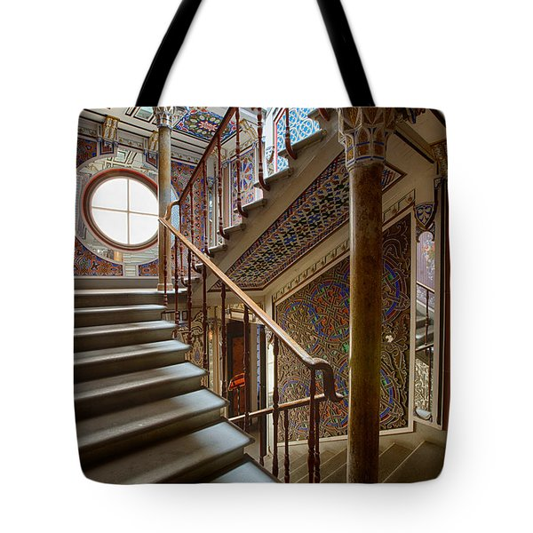 Fantasy Fairytale Palace - The Stairs Tote Bag