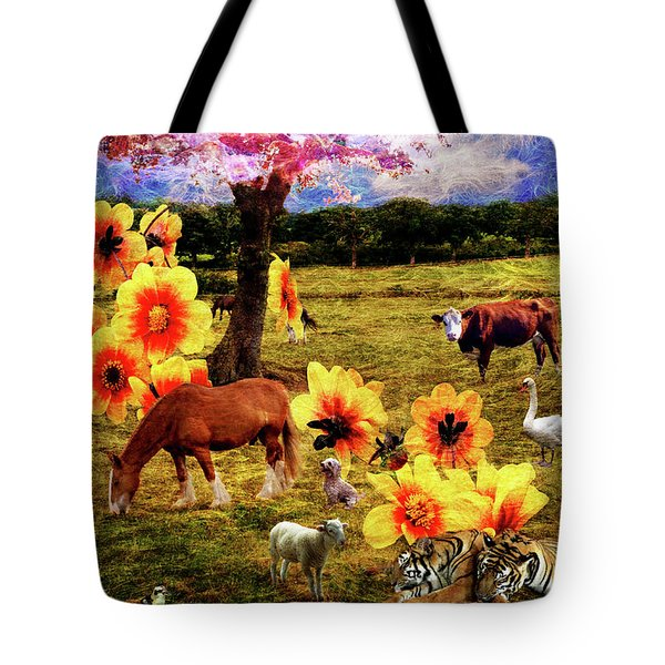Fantasy Farm Tote Bag