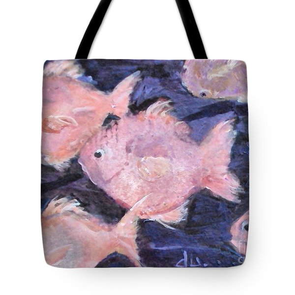 Fantasy Fish Tote Bag by Diane Ursin