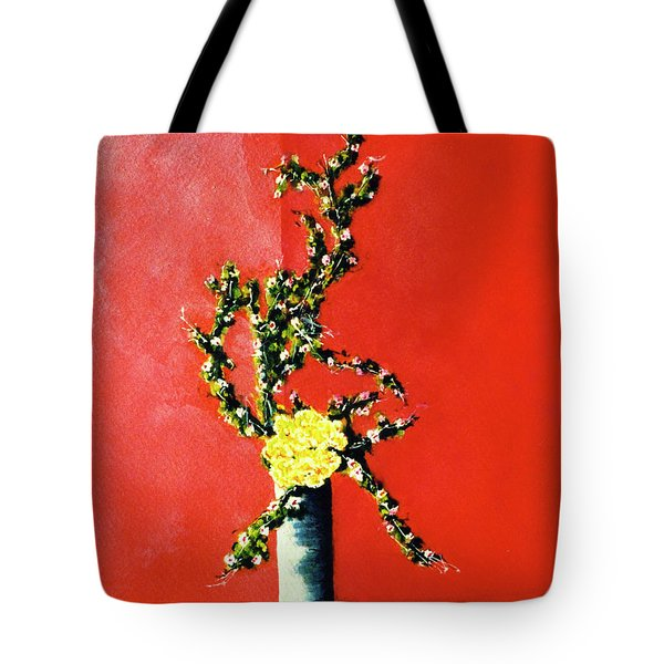 Fantasy Flowers Still Life #162 Tote Bag by Donald k Hall