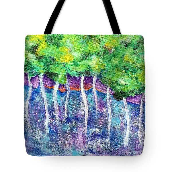 Fantasy Forest Tote Bag by Elizabeth Fontaine-Barr