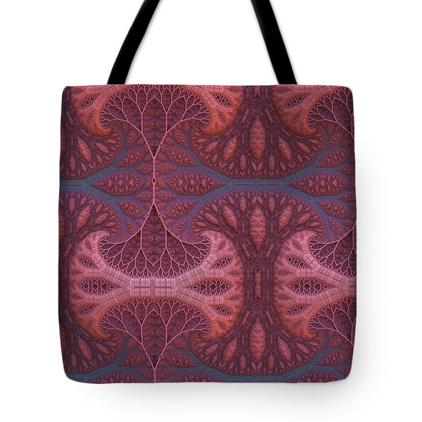 Tote Bag featuring the digital art Fantasy Forest by Lyle Hatch