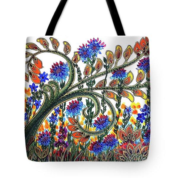 Fantasy Garden Tote Bag