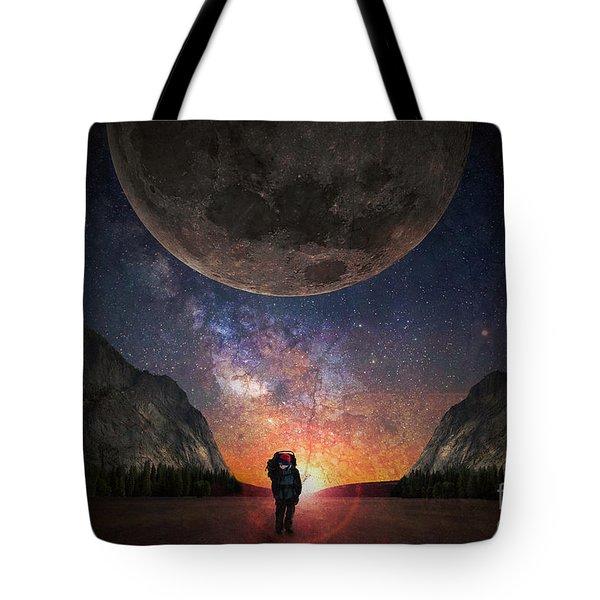 Fantasy Hike Tote Bag