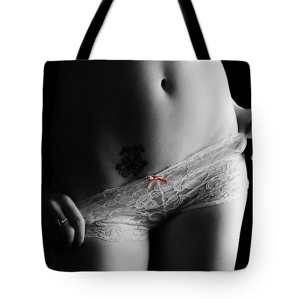Fantasy In A Bow Tote Bag