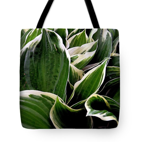 Tote Bag featuring the photograph Fantasy In White And Green by Dorin Adrian Berbier