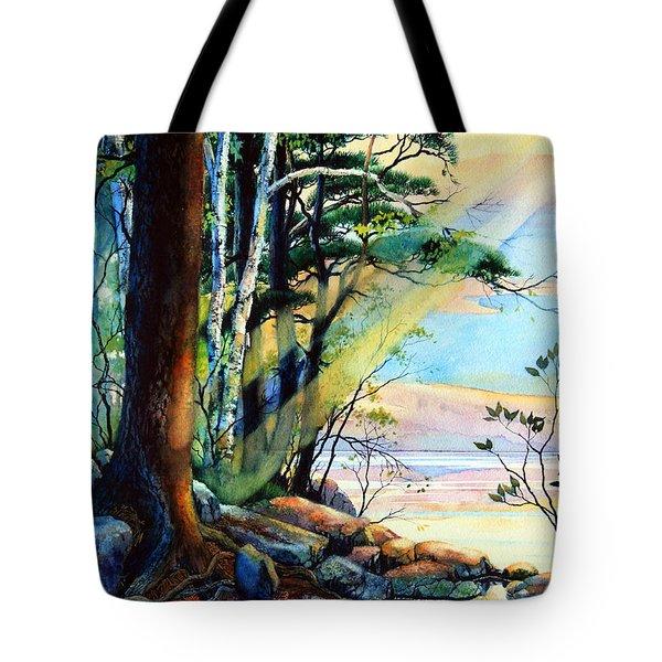 Fantasy Island Tote Bag by Hanne Lore Koehler