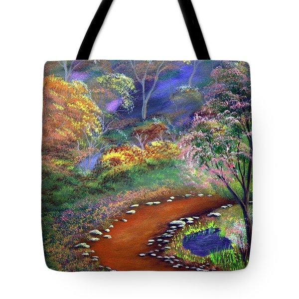 Fantasy Path Tote Bag