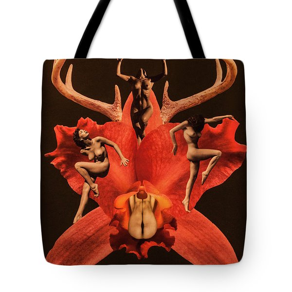 Fantasy Tote Bag by Sergey Simanovsky