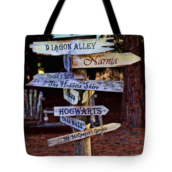 Fantasy Signs Tote Bag