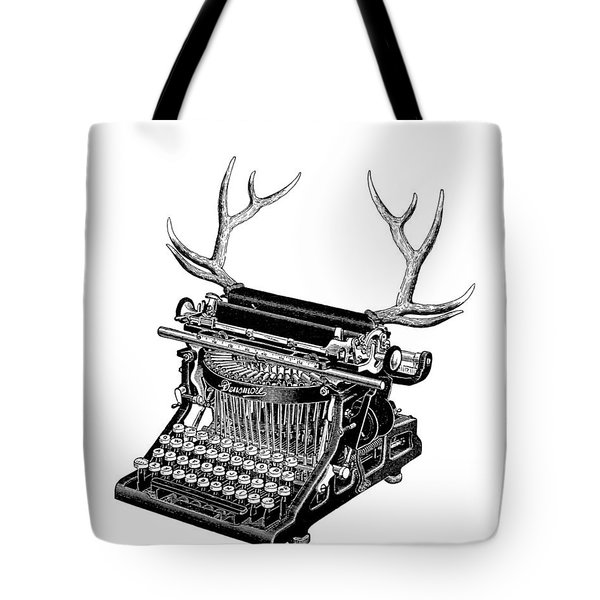 Fantasy Typewriter Tote Bag