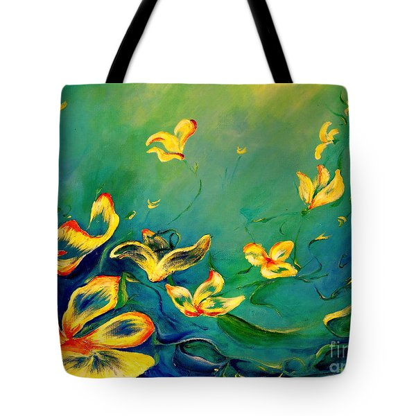 Fantasy World Tote Bag by Teresa Wegrzyn