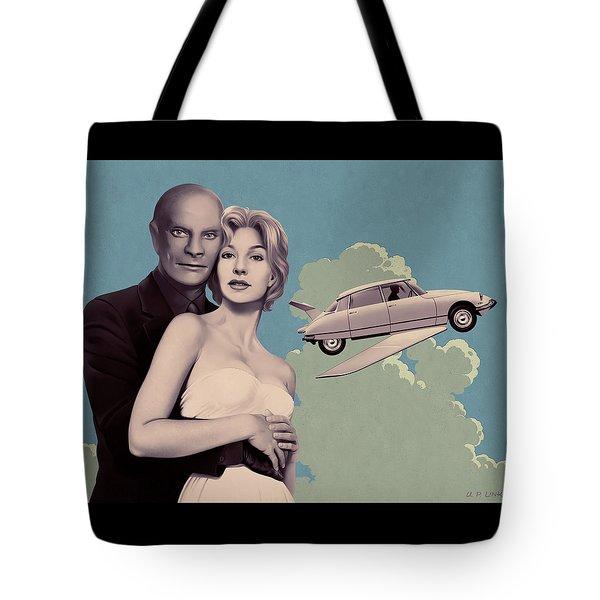 Fantomas - Print Version Tote Bag by Udo Linke