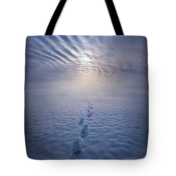Tote Bag featuring the photograph Far And Away by Phil Koch