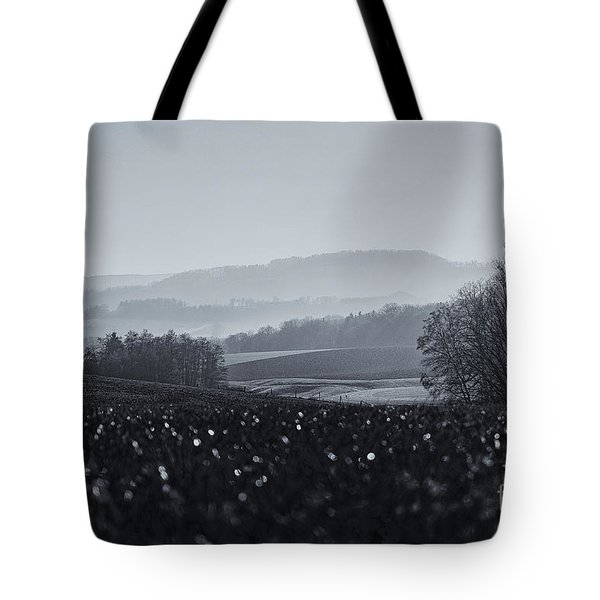 Far Away, The Misty Mountains Cold Tote Bag