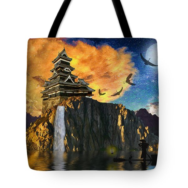 Far Away To The East Tote Bag