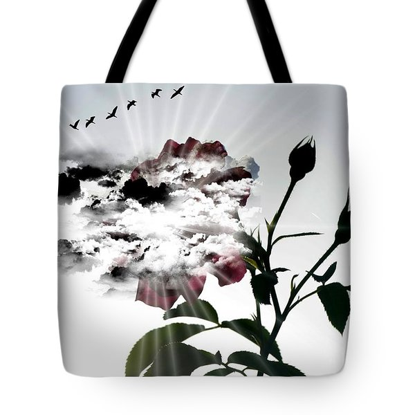 Far Beyond What Eyes Can See Tote Bag