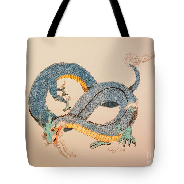 Far East Wind Walker Tote Bag