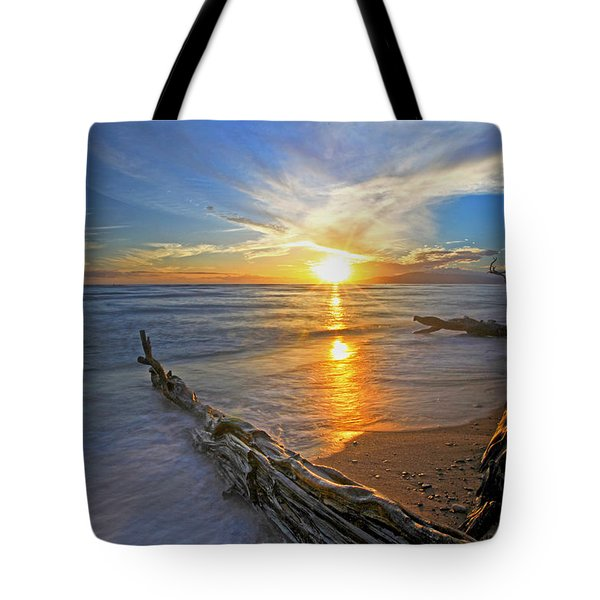 Far Out To Sea Tote Bag