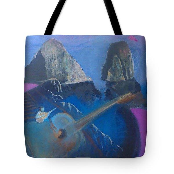 Faraglioni Serenade Tote Bag