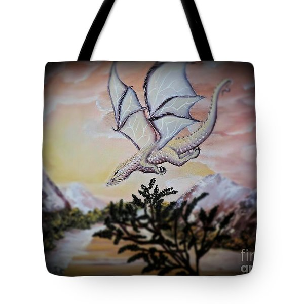 Faranth Tote Bag by Dianna Lewis
