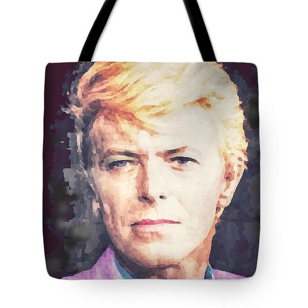 Farewell David Bowie Tote Bag