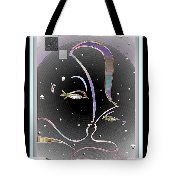 Farewell Mardi Gras Kiss Tote Bag