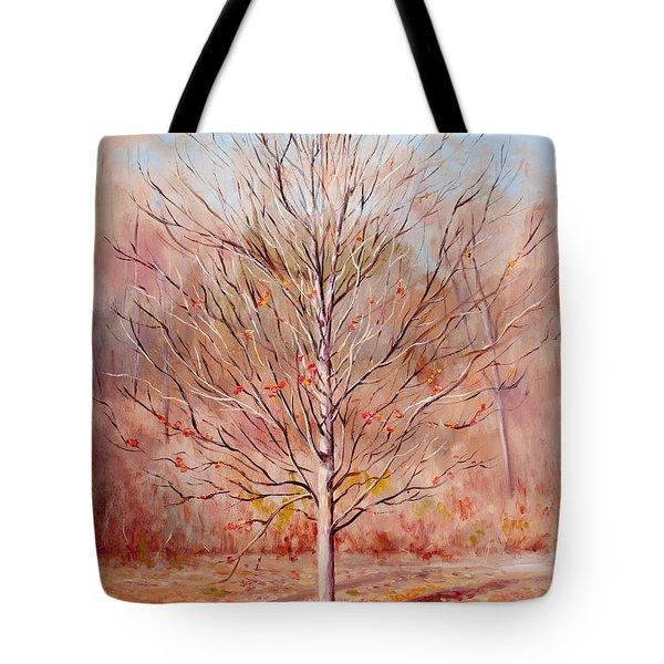 Farewell To Autumn Tote Bag