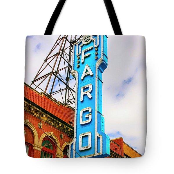 Fargo Theater Sign Tote Bag