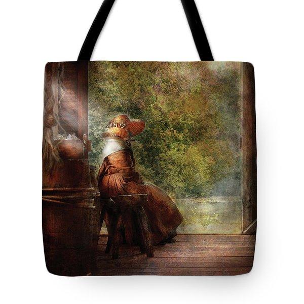 Farm - Farmer - Mother Tote Bag by Mike Savad