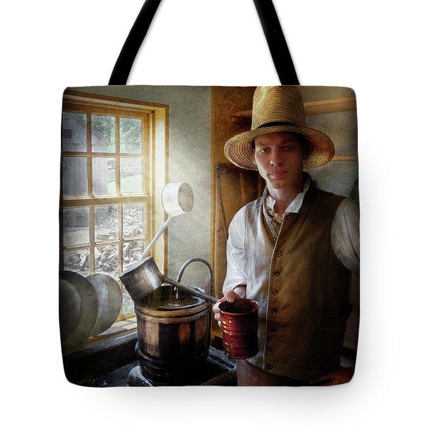 Farm - Farmer - The Farmer Tote Bag by Mike Savad