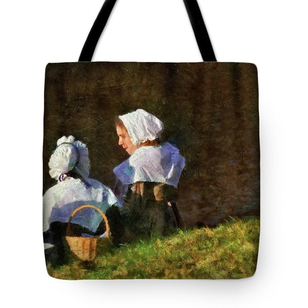 Farm - Farmer - The Young Maidens Tote Bag by Mike Savad