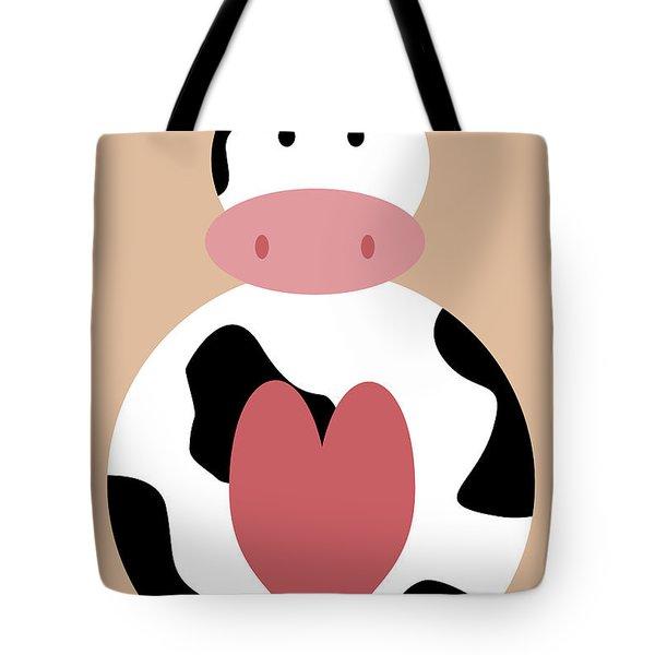 Farm Animals - Cow Tote Bag