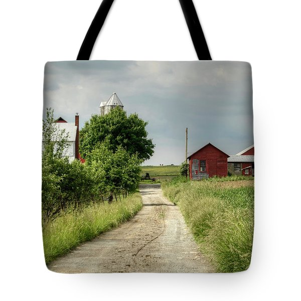 Farm Tote Bag by Ann Bridges