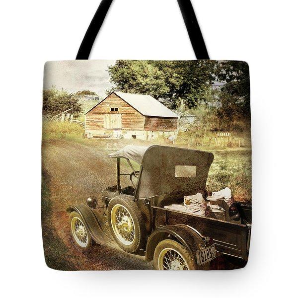 Farm Delivered Tote Bag