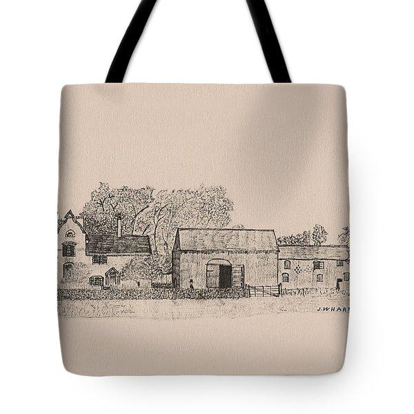 Farm Dwellings Tote Bag