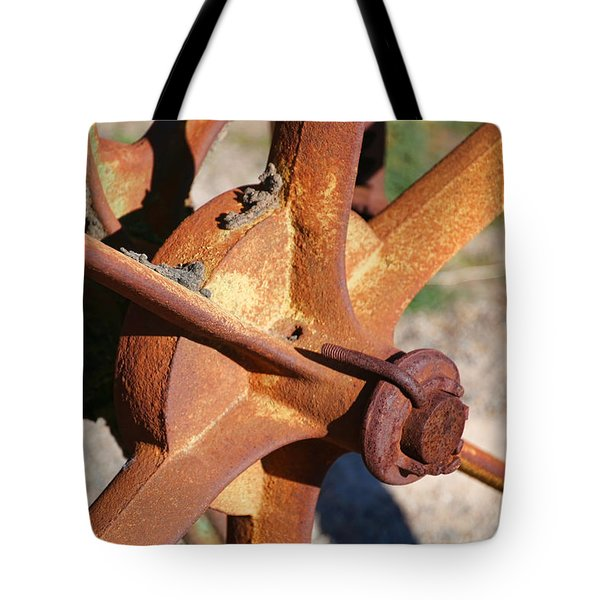 Tote Bag featuring the photograph Farm Equipment 3 by Ely Arsha