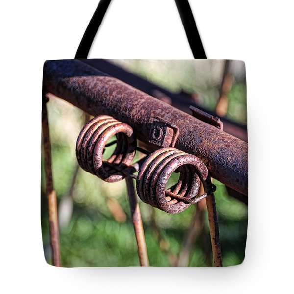 Tote Bag featuring the photograph Farm Equipment 6 by Ely Arsha