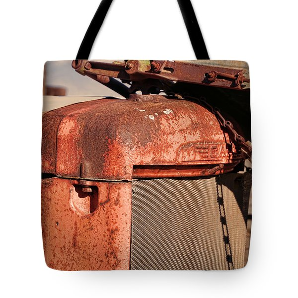 Tote Bag featuring the photograph Farm Equipment 8 by Ely Arsha