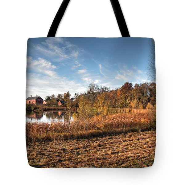 Farm Fall Colors Tote Bag