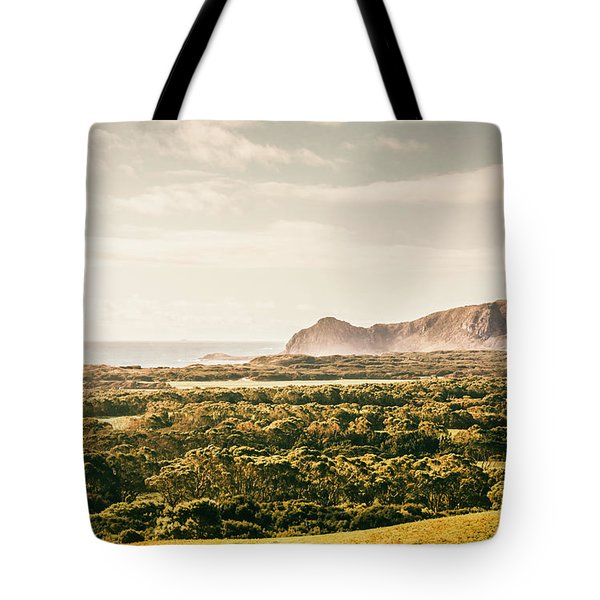 Farm Fields To Seaside Shores Tote Bag
